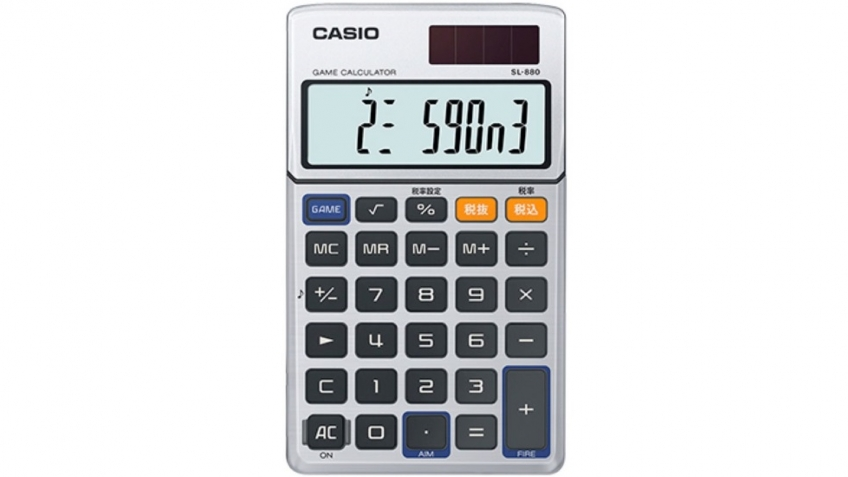 Casio возродит игровой калькулятор MG-880