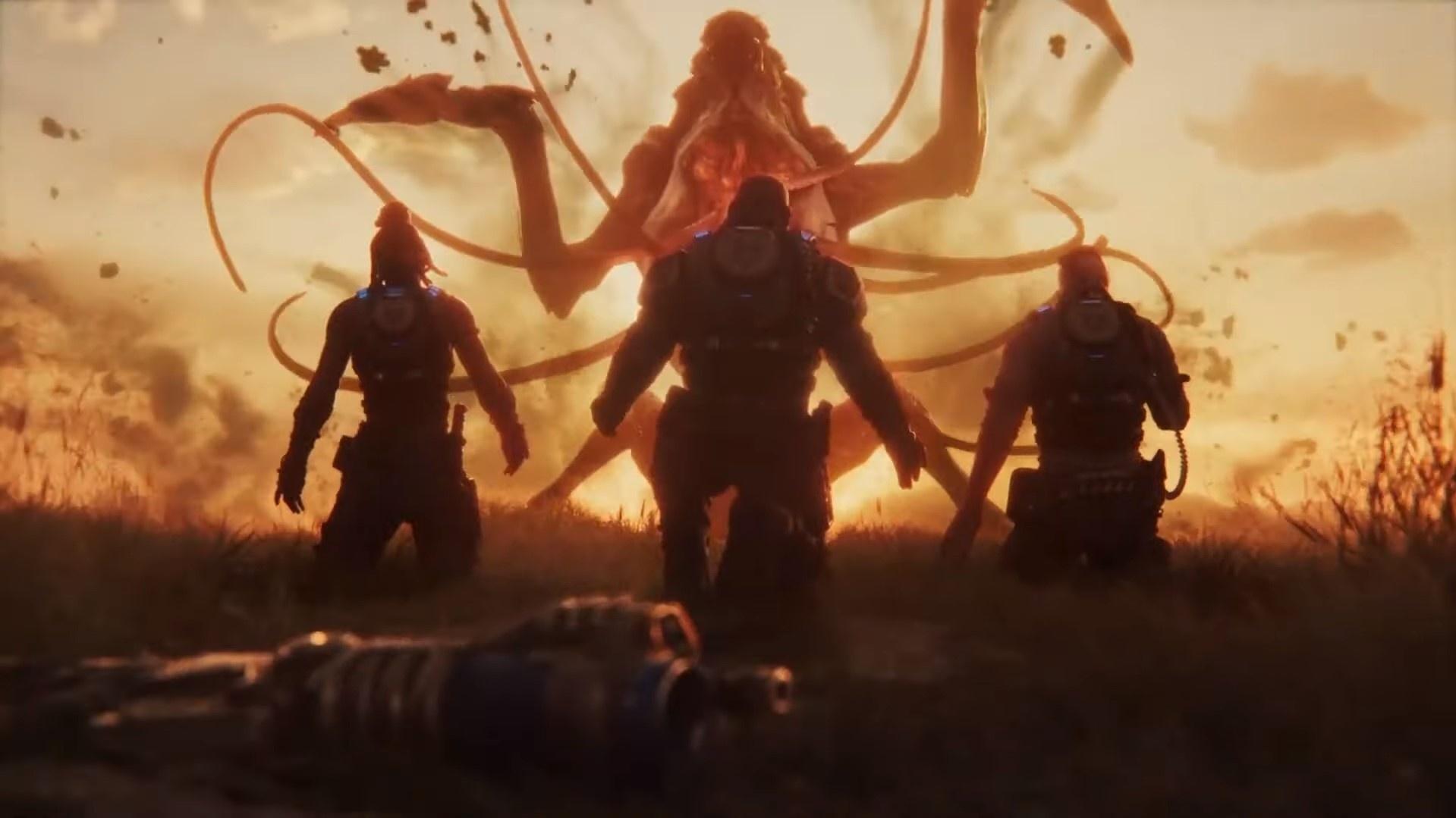 Microsoft впервые показала сюжетную кампанию Gears5, предупредив о спойлерах