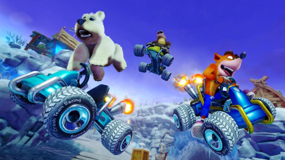 Crash Team Racing Nitro-Fueled: свежие ролики игрового процесса и скриншоты
