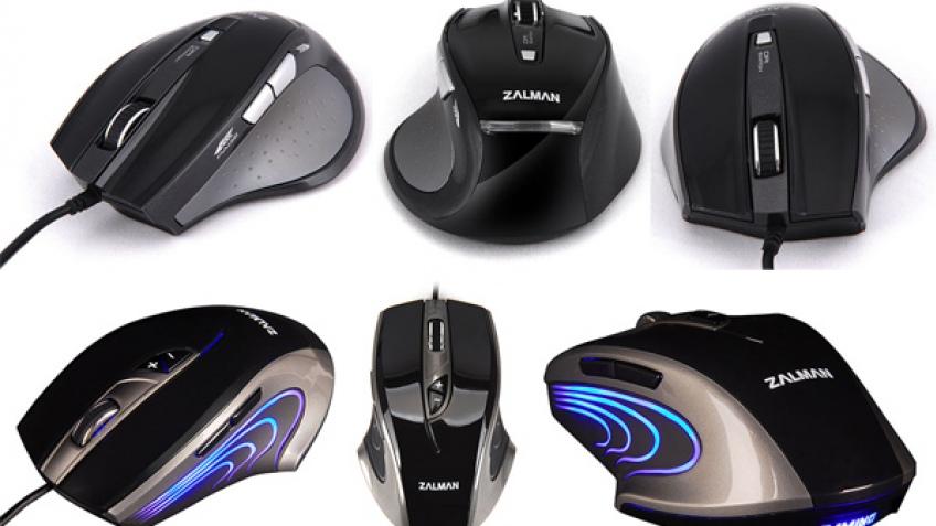 Zalman представила игровые мыши серии ZM