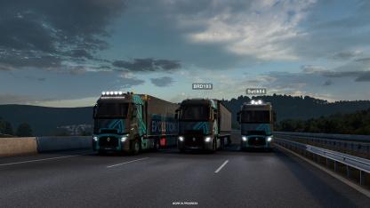 В Euro Truck Simulator2 и American Truck Simulator появятся онлайновые моды
