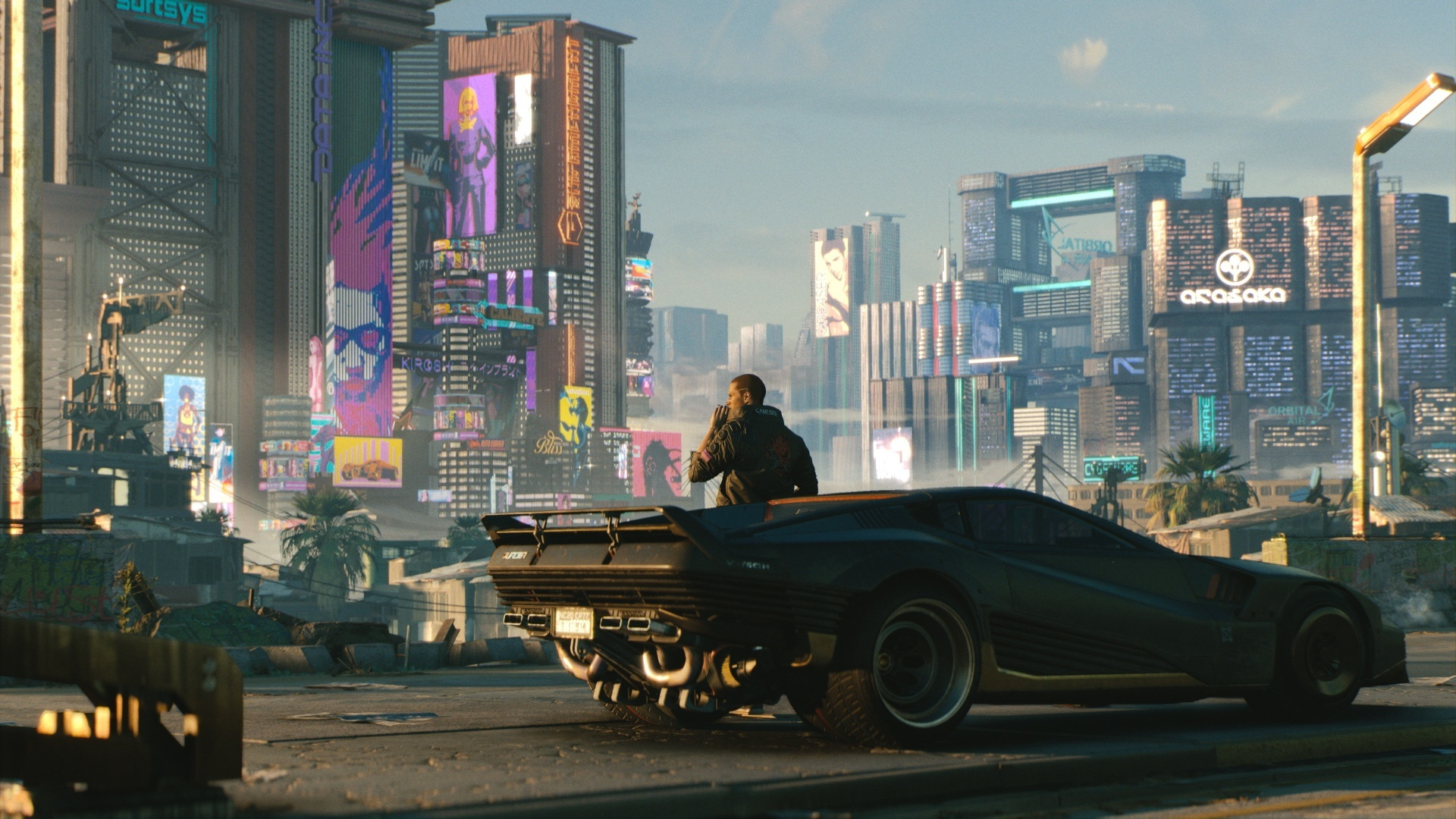 Полноценное обновление Cyberpunk 2077 для PS5 и Xbox Series X выйдет в 2021 году