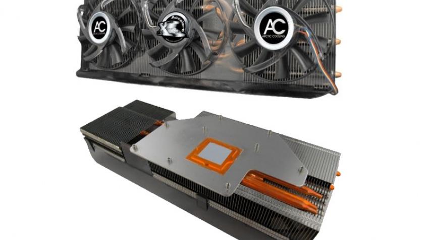 Кулер-монстр для GeForce 9800 GTX