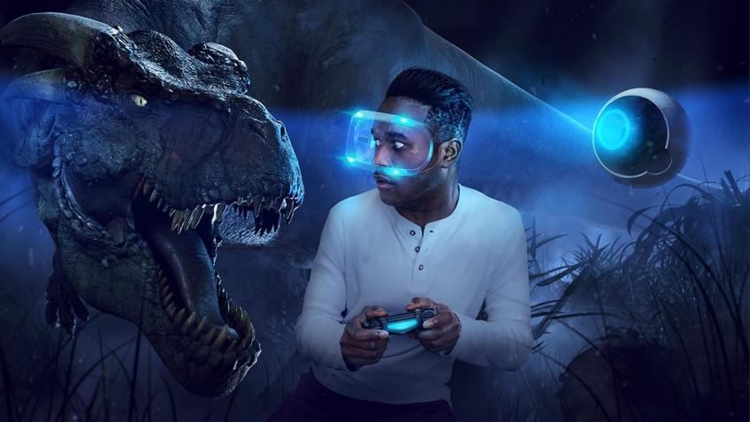 Sony анонсировала VR-шлем для PlayStation5