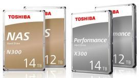 Toshiba готовит жёсткие диски на12 и14 ТБ