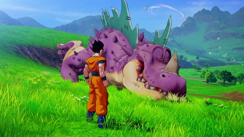 Готен, Транкс и Андроид18 на новых скриншотах Dragon Ball Z: Kakarot