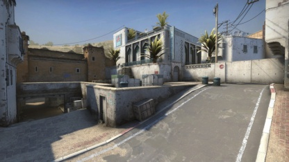 Энтузиасты воссоздают в Fortnite карту Dust2 из Counter-Strike