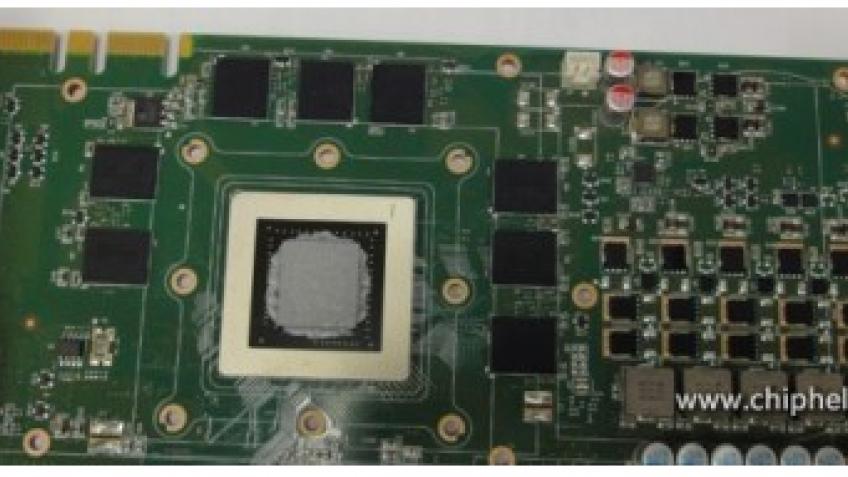 Первые фотографии видеокарты на основе графического чипа NVIDIA Kepler GK104