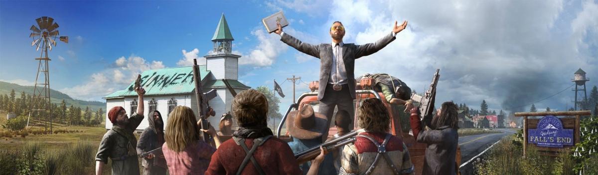 Старт Far Cry5 стал самым успешным в истории Ubisoft... после The Division