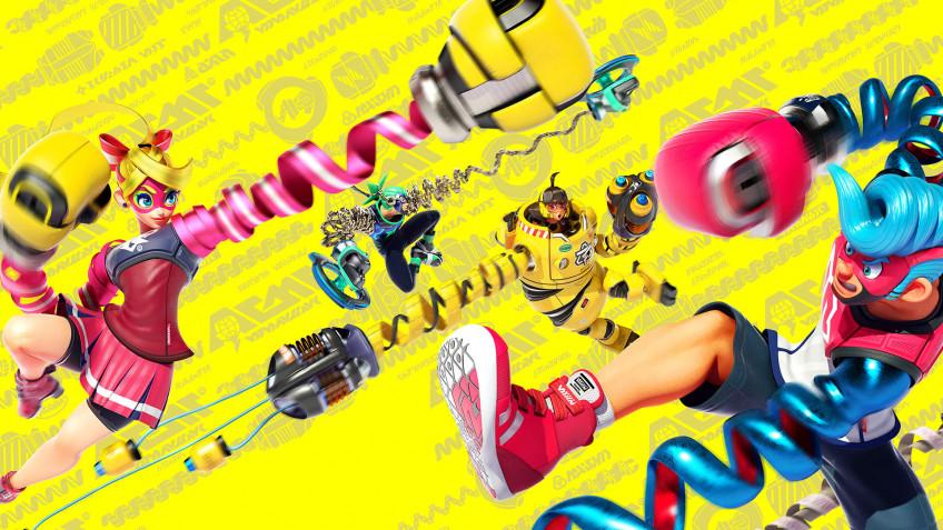Nintendo молча отменила графическую новеллу по мотивам Arms