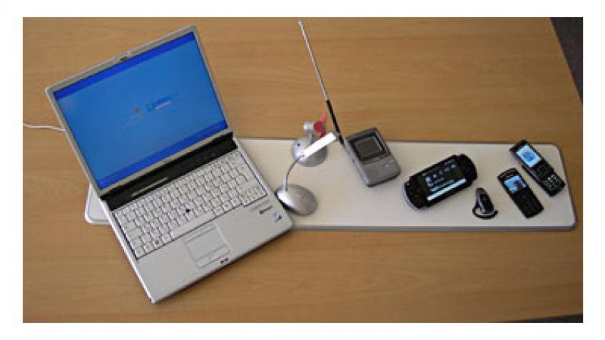 CES 2009: беспроводная зарядка техники теперь реальность