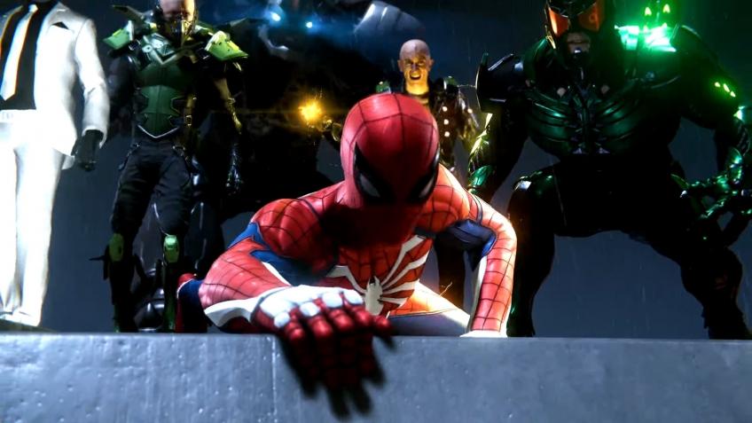 В трейлере Marvel's Spider-Man взрывается вертолёт