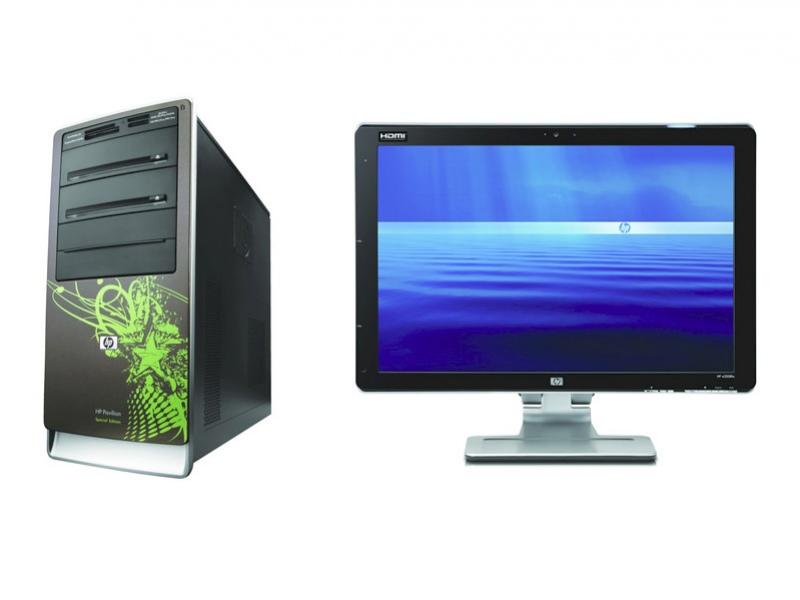 Eco-компьютеры и новый монитор HP