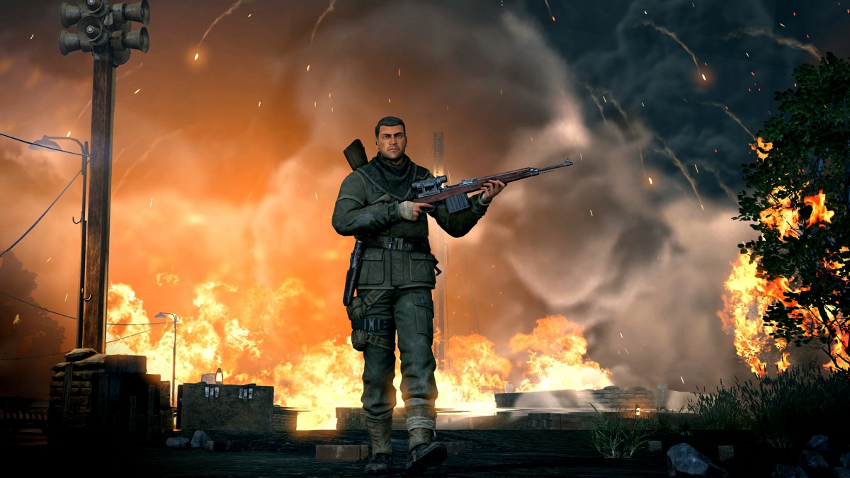 Опубликованы первые официальные скриншоты Sniper Elite V2 Remastered