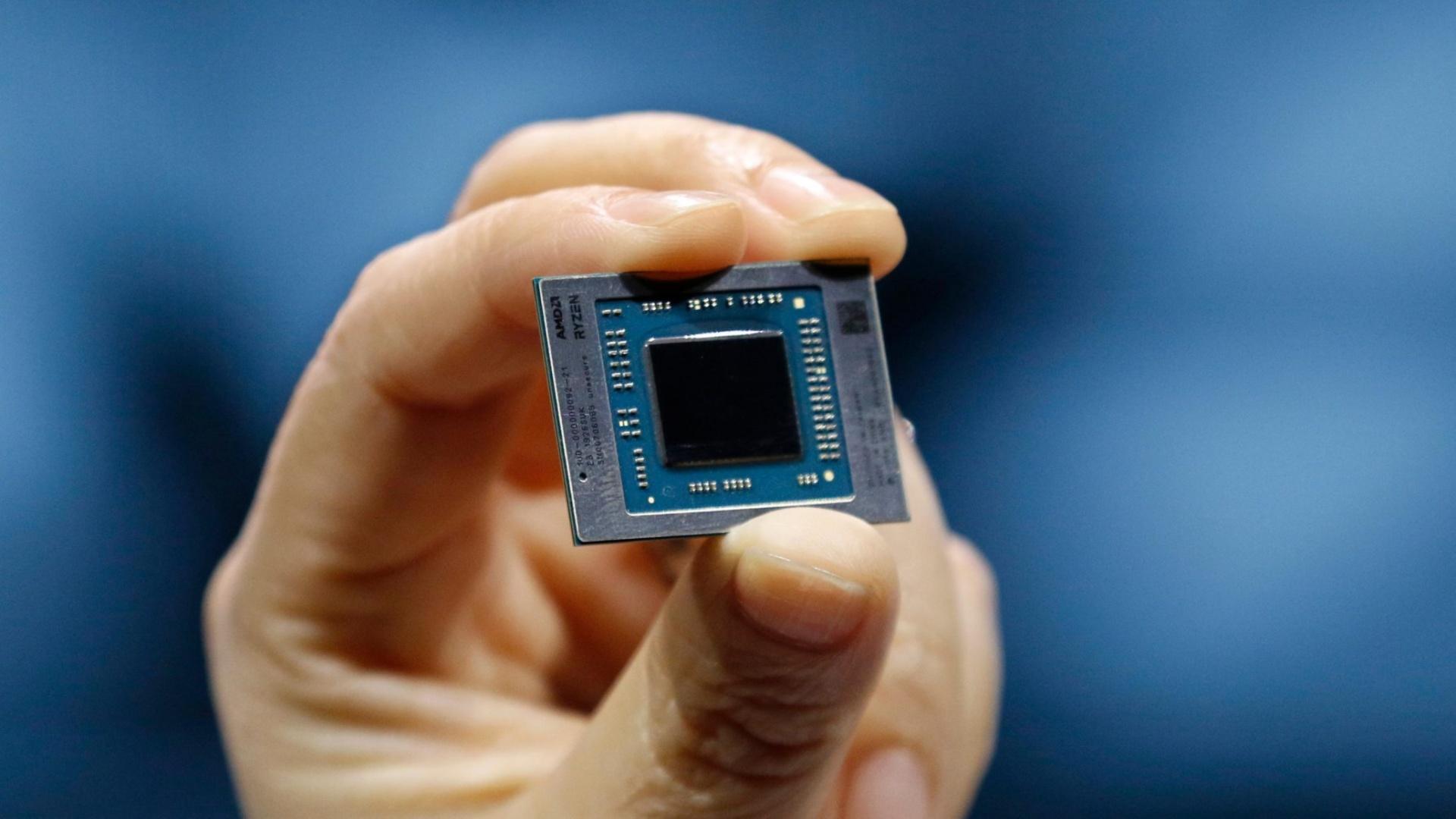 Мобильный AMD Ryzen7 4800HS обогнал в тесте десктопный Ryzen7 2700X