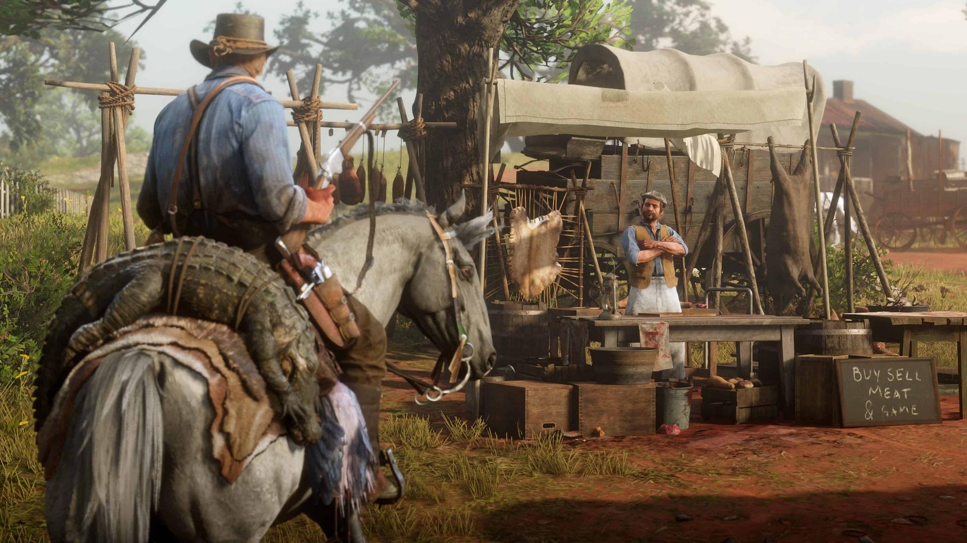 Red Dead Redemption2 наконец-то вышла на РС