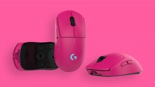 Logitech представила лимитированную версию игровой мыши в розовом цвете