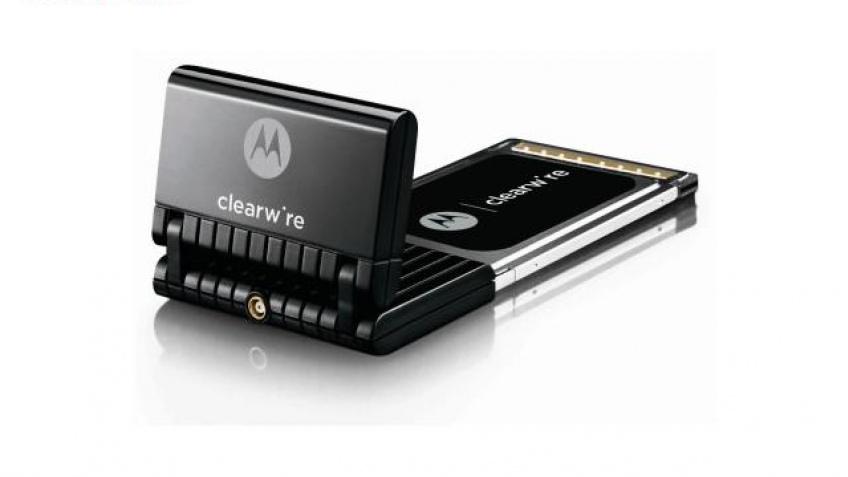 Первая pre-WiMAX карточка от Clearwire
