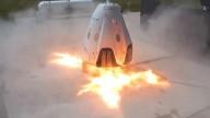 У Crew Dragon возникли неполадки при огневых испытаниях