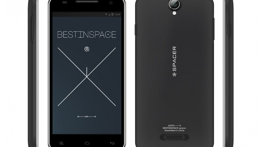 Just5 Spacer: самый доступный 5-дюймовый гуглофон