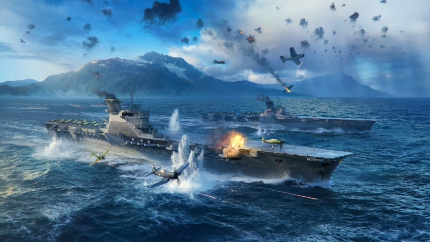 World of Warships: улучшенный класс авианосцев и раздача ключей