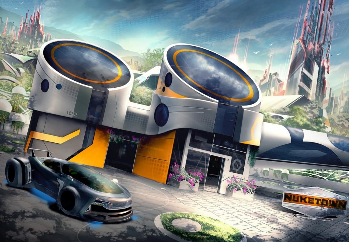В Call of Duty: Black Ops3 добавят обновленную карту Nuketown
