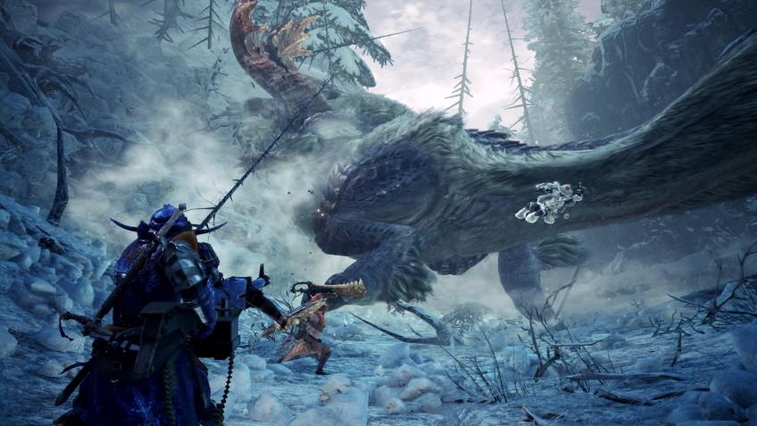 Monster Hunter: World в Steam после релиза Iceborne вернулись сотни тысяч игроков