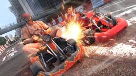 В Yakuza: Like a Dragon можно будет пострелять из «Гатлинга» в ходе гонки на картах