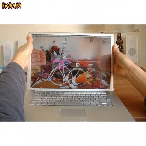 Галерея «прозрачного» ноутбука