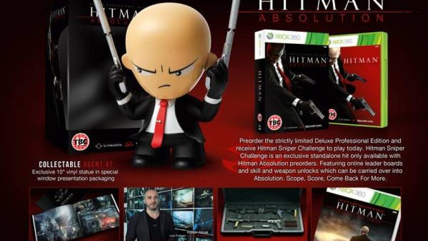 Покупателям новой Hitman предложат фигурку Агента47