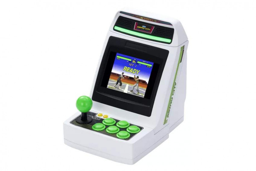 Sega представила компактный аркадный автомат Astro City Mini