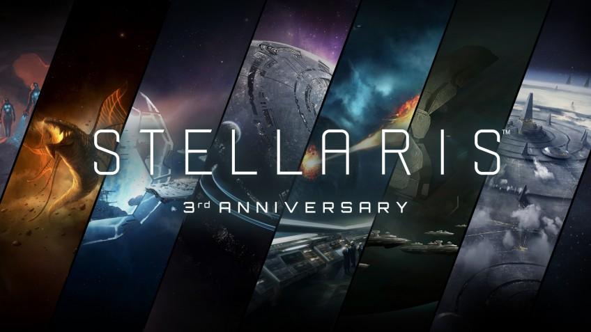 Stellaris исполнилось три года: скидки и бесплатные выходные