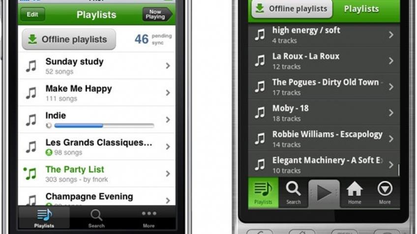 Сервис Spotify захватывает мобильные устройства
