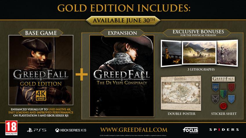 77f0df18f7ead34bb0bd66db 848xH - GreedFall доберётся до PS5 и Xbox Series уже 30 июня — вместе с сюжетным DLC