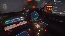 Cloudpunk наконец получила вид от первого лица из салона автомобиля