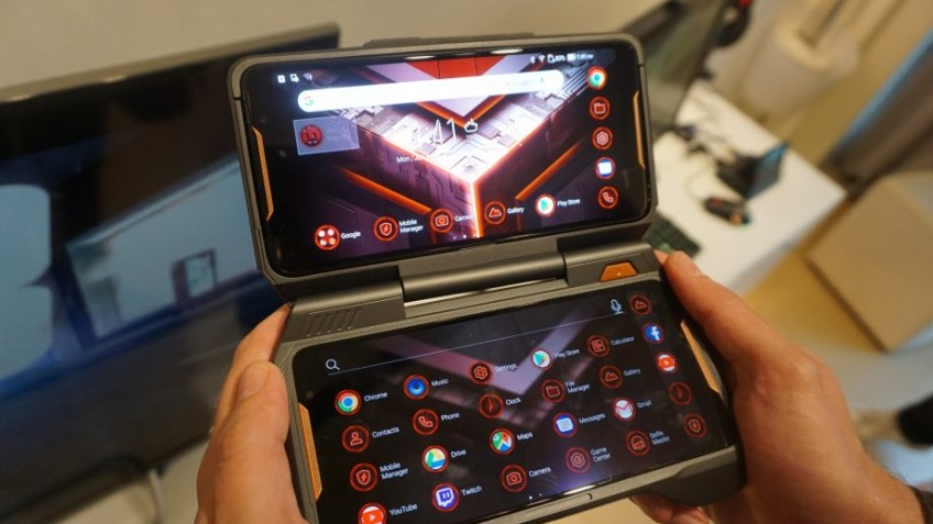Игровой смартфон Asus ROG Phone 2 впервый раз появился на«живых» фото