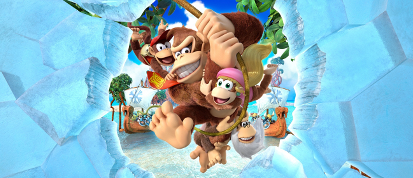 СМИ: команда Super Mario Odyssey до конца года выпустит новую Donkey Kong