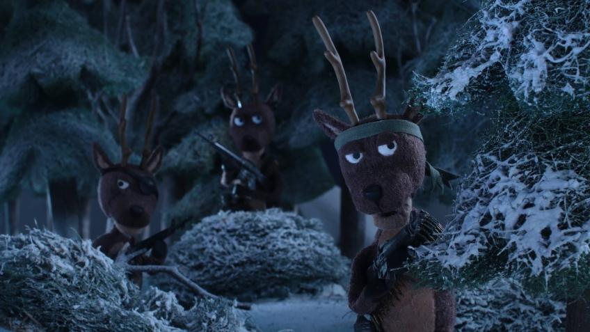 НГ 2019: 20th Century FOX показала схватку Хищника с Санта-Клаусом