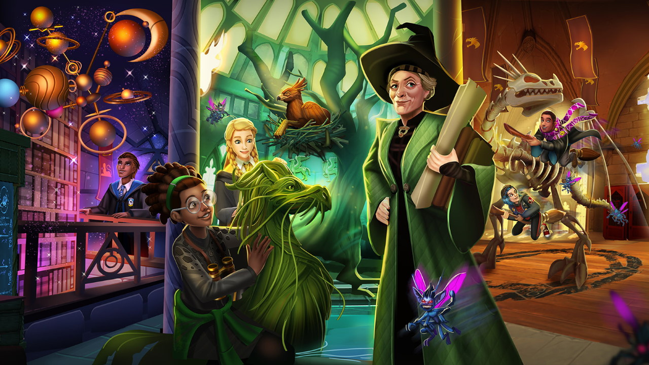 Harry Potter: Hogwarts Mystery заработала 300 млн долларов с момента выхода