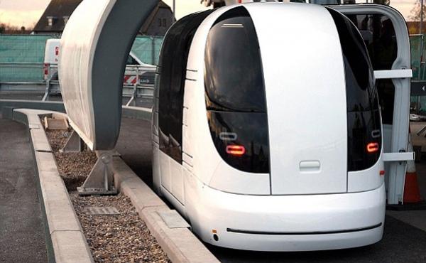 Британский аэропорт установил робо-такси