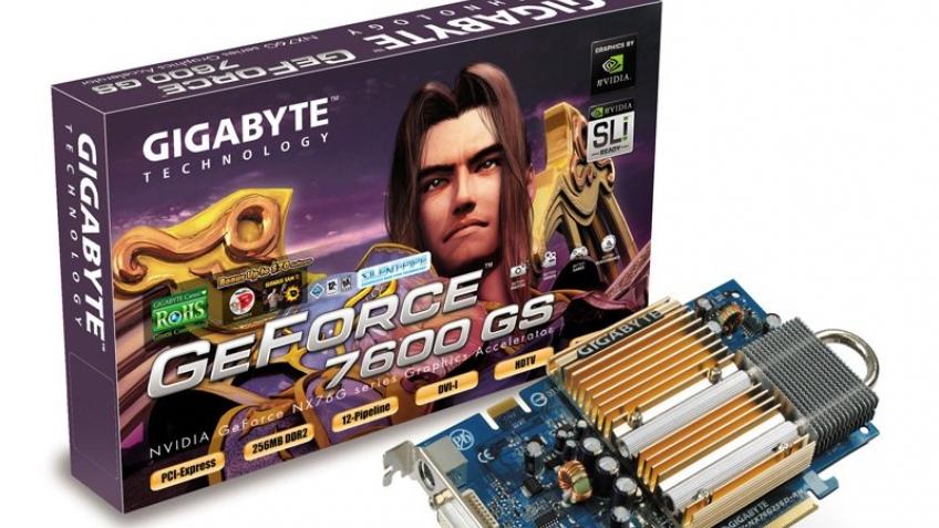 GeForce 7600 GS официально