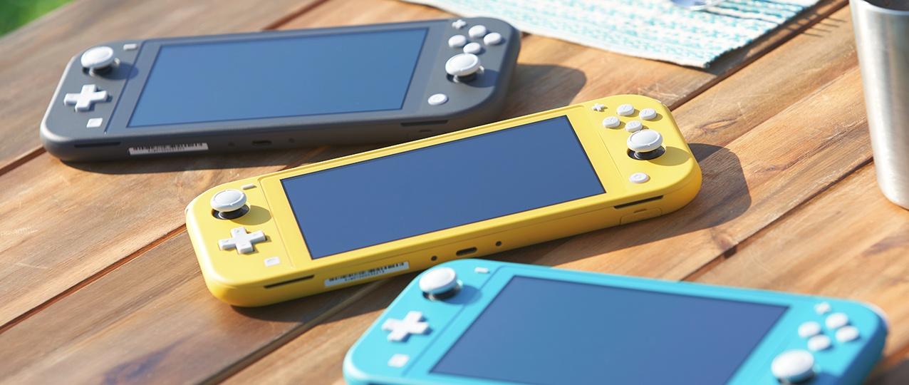 Вышел новый трейлер Nintendo Switch Lite