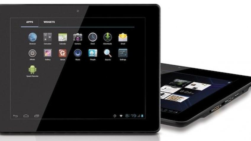 Coby начала продавать бюджетный планшет на ICS