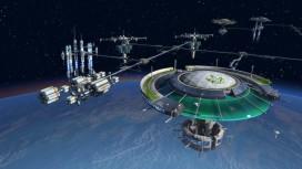 В трейлере дополнения «Орбита» для Anno 2205 показали космическую станцию