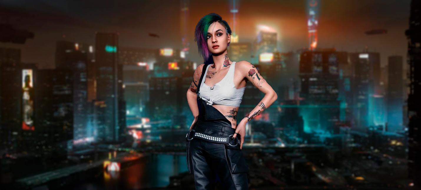 Cyberpunk 2077 показали на PS4 Pro и PS5 —7 минут геймплея