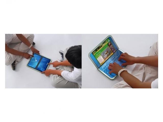 OLPC XO2.0 – в 2010 году, с сенсорными дисплеями