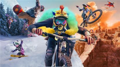 Горы, каньоны и парки: в новом трейлере Riders Republic рассказали про мир игры