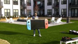 Инженер построил Nintendo Switch с 4K-экраном и весом почти 30 килограмм