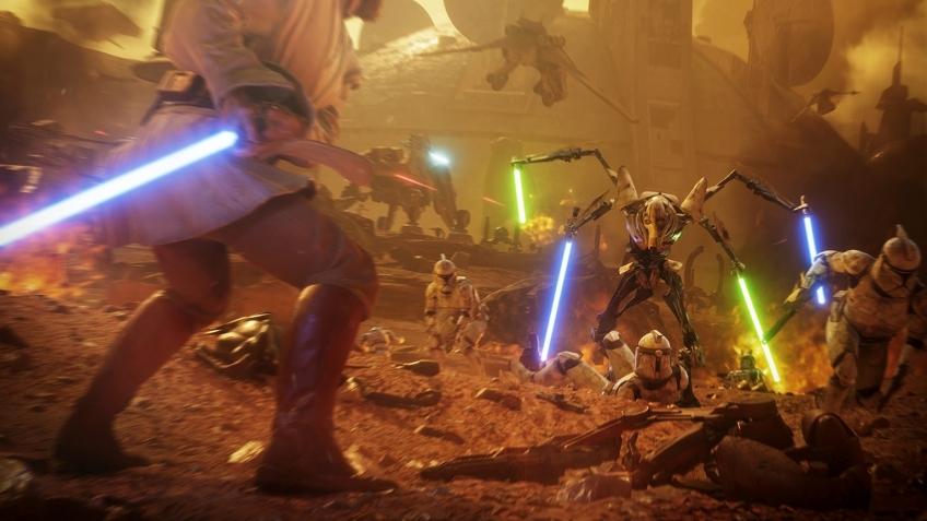 Генерал Кеноби появится в Star Wars: Battlefront II через неделю