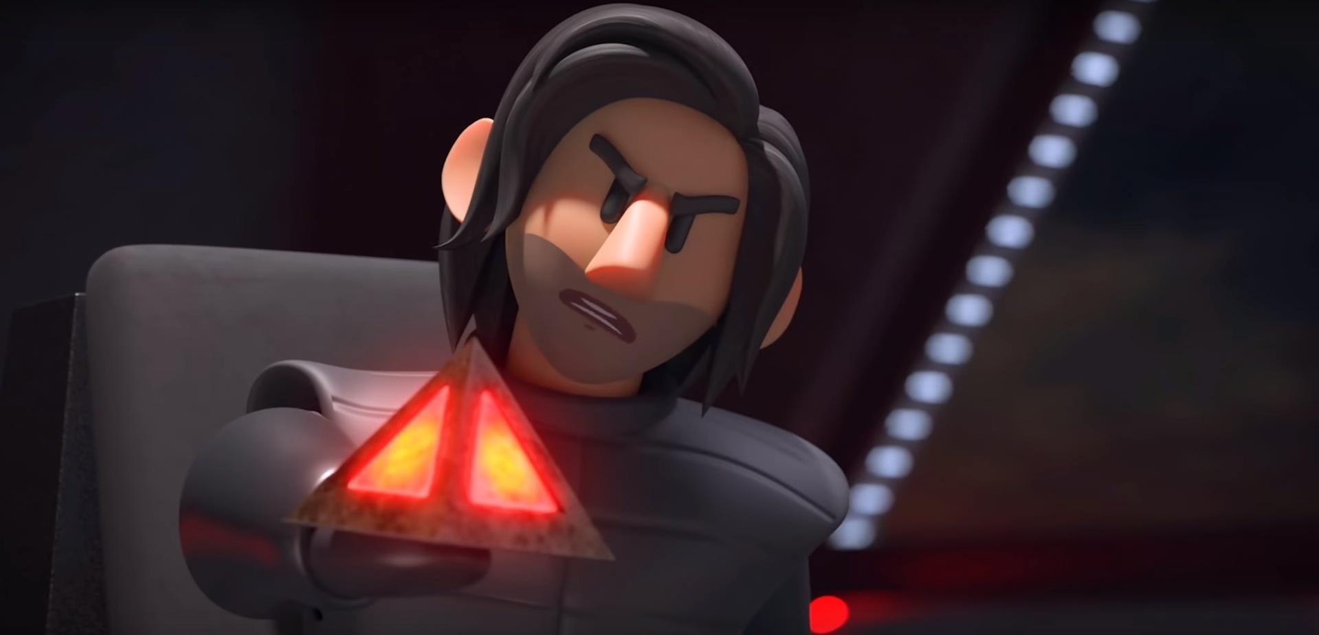 Появился анимированный пересказ первого сценария9 эпизода «Звёздных войн»